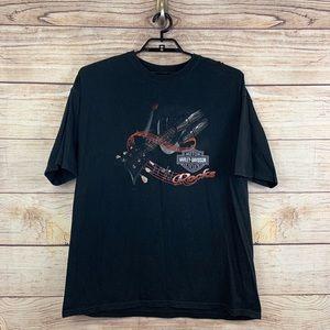 Men's 2XL Harley Davidson Graphic Tee